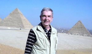 2009 Ägypten: Vor den Pyramiden von Giza